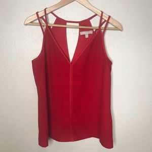 Banana Republic Red Strappy tank top Size 6